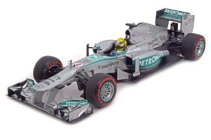 MERCEDES-BENZ AMG PETRONAS F1 TEAM W04 NICO ROSBERG WINNER MONACO GP 2013 1/18 MINICHAMPS 110130109 MIN110130109