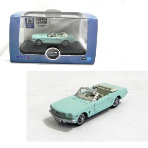 1965 Ford Mustang Convertible Tropical 1/87 Oxford 87Mu65002 Oxf87Mu65002