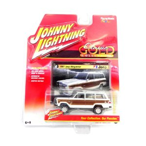 1981 JEEP WAGONEER 1/64 JOHNNY LIGHTNING CLASSIC GOLD RELEASE 1 JLCG001