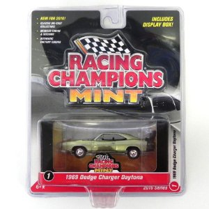 1969 Dodge Charger Daytona 1/64 Johnny Lightning Racing Champions Mint Release 1 Rc001
