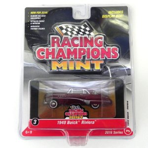 1949 BUICK RIVIERA 1/64 JOHNNY LIGHTNING RACING CHAMPIONS MINT RELEASE 1 RC001
