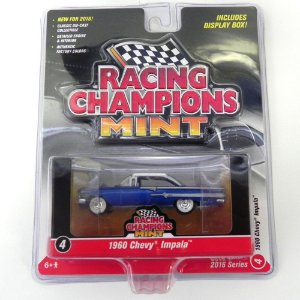1960 Chevrolet Impala 1/64 Johnny Lightning Racing Champions Mint Release 1 Rc001