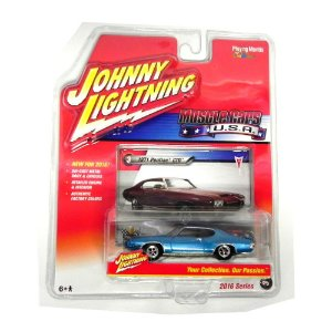 1971 Buick Gsx 1/64 Johnny Lightning Muscle Cars Usa Release 1 Jlmc001
