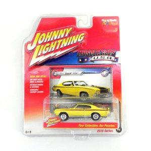 1971 Buick Gsx 1/64 Johnny Lightning Muscle Cars Usa Release 1 Jlmc001