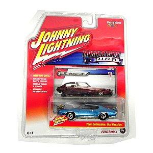 1971 PONTIAC GTO 1/64 JOHNNY LIGHTNING MUSCLE CARS USA RELEASE 1 JLMC001