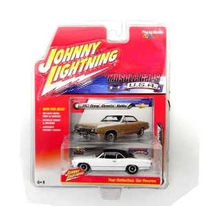 1967 Chevrolet Chevelle Malibu 1/64 Johnny Lightning Muscle Cars Usa Release 1 Jlmc001