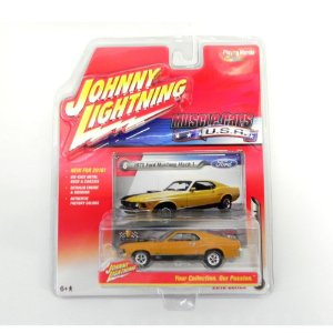 1970 FORD MUSTANG MACH 1 1/64 JOHNNY LIGHTNING MUSCLE CARS USA RELEASE 1 JLMC001