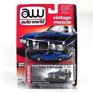 1969 PONTIAC FIREBIRD 1/64 AUTO WORLD AW64012