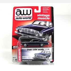 1963 DODGE POLARA 1/64 AUTO WORLD AW64032