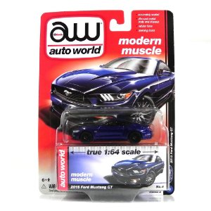 2015 FORD MUSTANG GT 1/64 AUTO WORLD AW64032