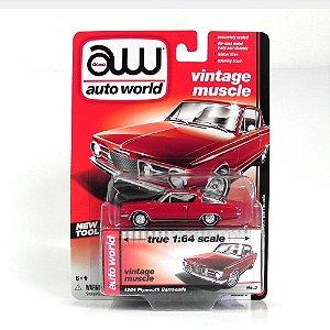 1964 PLYMOUTH BARRACUDA 1/64 AUTO WORLD AW64032