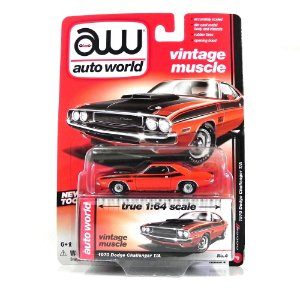 1970 DODGE CHALLENGER T/A 1/64 AUTO WORLD AW64032