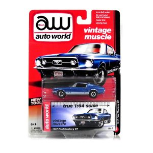 1967 Ford Mustang Gt 1/64 Auto World Aw64002