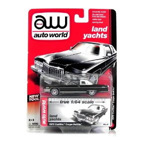 1976 CADILLAC COUPE DEVILLE 1/64 AUTO WORLD AW64002