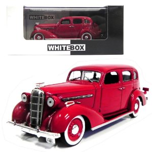 1936 BUICK SPECIAL 4-DOOR 1/43 WHITEBOX WB082