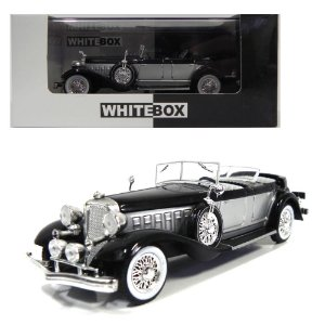 1933 CHRYSLER IMPERIAL SPIDER OPEN LE BARON PHAETON 1/43 WHITEBOX WB114