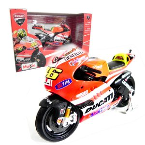 MOTO VALENTINO ROSSI DUCATI DESMOSEDICI GP 2011 1/18 MAISTO 31579 MAI31579