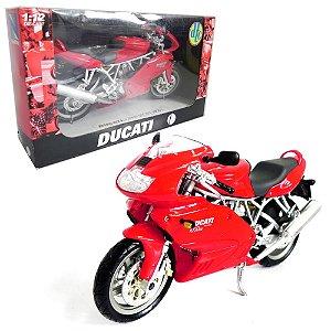 MOTO DUCATI SUPER SPORT 1000 DS 1/12 NEWRAY