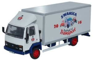 CAMINHÃO FORD CARGO BOX VAN SWANSEA FESTIVAL OF TRANSPORT 2016 1/76 OXFORD SP108 OXFSP108
