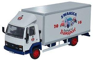Caminhão Ford Cargo Box Van Swansea Festival Of Transport 2016 1/76 Oxford Sp108 Oxfsp108
