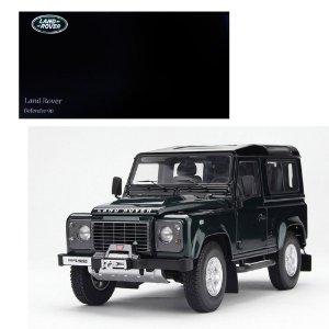2007 LAND ROVER LAND NEW DEFENDER 90 1/18 KYOSHO 08901G KYO8901G0