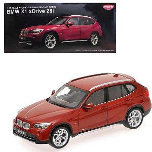 2010 BMW X1 xSDRIVE 28i VERMILLION RED 1/18 KYOSHO 08791VR KYO8791VR
