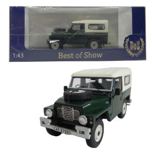 1982 LAND ROVER SERIES III LIGHTWEIGHT 1/43 BEST OF SHOW 200880 BOS43670