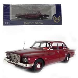 1960 PLYMOUTH VALIANT SEDAN 1/43 BEST OF SHOW 193835 BOS43060