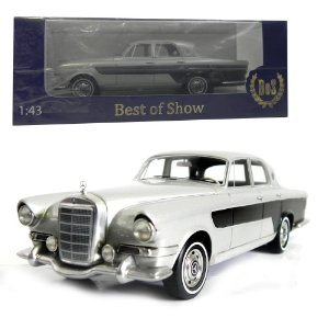 1956 MERCEDES-BENZ GHIA 300C BERLINA 1/43 BEST OF SHOW 197971 BOS43440