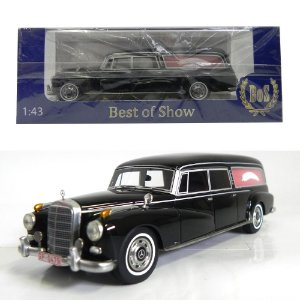 1960 MERCEDES-BENZ 300 D W189 FUNERAL 1/43 BEST OF SHOW 197984 BOS43465