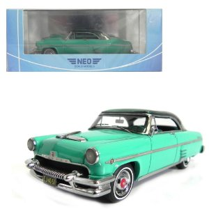 1954 MERCURY MONTEREY SUN VALLEY 1/43 NEO SCALE MODELS 186330 NEO44057