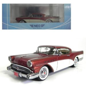 1957 BUICK ROADMASTER HARDTOP COUPÉ 1/43 NEO SCALE MODELS 185832 NEO45805