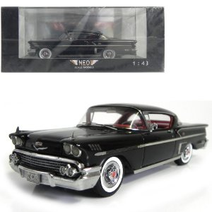 1958 CHEVROLET BEL AIR IMPALA 2d HARD TOP COUPÉ 1/43 NEO SCALE MODELS 198578 NEO49512