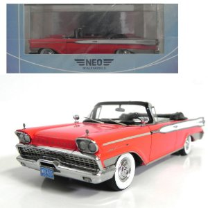 1959 MERCURY PARK LANE CONVERTIBLE 1/43 NEO SCALE MODELS 185985 NEO46095