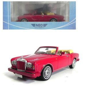 1985 BENTLEY CONTINENTAL DHC 1/43 NEO SCALE MODELS 161122 NEO44150