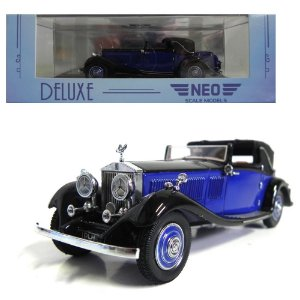 Rolls-Royce Phantom Ii Continental Dhc Gurney Nutting 1/43 Neo Scale Models Neo49533