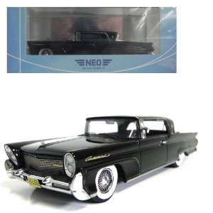 1958 LINCOLN CONTINENTAL MARK III HARDTOP COUPÉ 1/43 NEO SCALE MODELS 185908 NEO46000