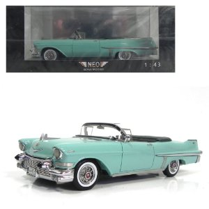 1957 CADILLAC SERIES 62 CONVERTIBLE 1/43 NEO SCALE MODELS 198582 NEO49515