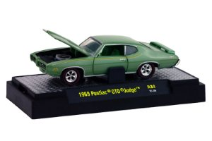 1969 Pontiac Gto Judge 1/64 M2 Machines 32600 Release 34 Detroit-Muscle M2M32600-34H