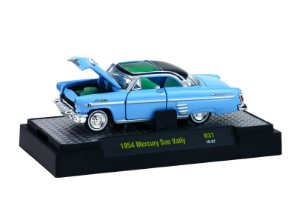 1954 MERCURY SUN VALLY 1/64 M2 MACHINES 32500 RELEASE 37 AUTO-THENTICS M2M32500-37H