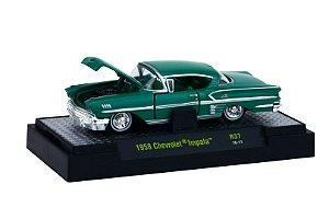 1958 CHEVROLET IMPALA 1/64 M2 MACHINES 32500 RELEASE 37 AUTO-THENTICS M2M32500-37H