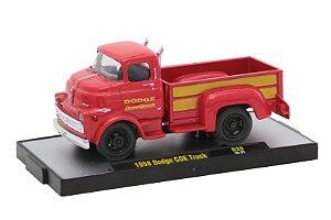 1958 Dodge Coe Truck 1/64 M2 Machines 32500 Release 38 Auto-Thentics M2M32500-38