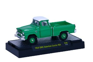 1958 Gmc Suburban Carrier 4X4 1/64 M2 Machines 32500 Release 36 Auto-Trucks M2M32500-36H