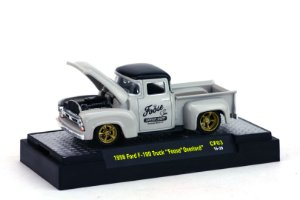 1956 FORD F-100 TRUCK FOOSE OVERLORD 1/64 M2 MACHINES 32600 RELEASE CF03 CHIP FOOSE M2M32600-CF03