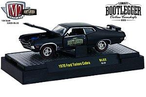 1970 Ford Torino Cobra 1/64 M2 Machines 32600 Release Bl02 Lunati Bootlegger M2M32600-Bl02C