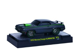 1970 Mercury Cougar Eliminator 1/64 M2 Machines 82161 Release 15 Ground Pounders M2M82161-15H