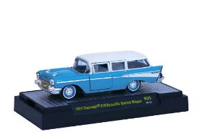 1957 Chevrolet 210 Beauville Station Wagon 1/64 M2 Machines 32500 Release 35 Auto-Thentics M2M32500-35H