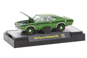 1969 Plymouth Barracuda 340 1/64 M2 Machines 32600 Release 35 Detroit-Muscle M2M32600-35H