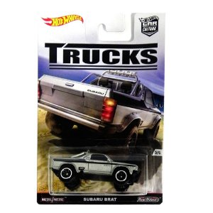 Subaru Brat 1/64 Hot Wheels Trucks Hotdjf89-L5104Lb