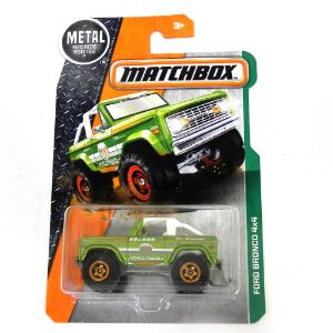 FORD BRONCO 4X4 1/64 MATCHBOX MATCHDJW46-4B10